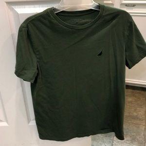 Olive green nautica tshirt
